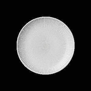 Piatto da dessert in ceramica grigia Abella