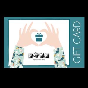 Sbam Design Gift Cards